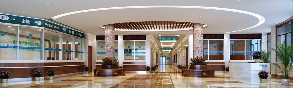医院按2级医院的标准设计和装修